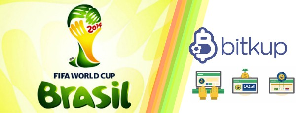 Bitkup Brazil World Cup 2014