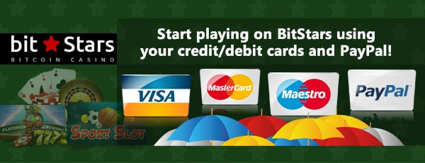 Bitstars Bitcoin Credit Cards