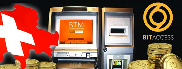 SBEX Switzerland Bitcoin ATM with BitAccess