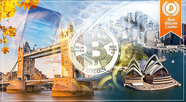 Australia, UK: Bitcoin is a threat
