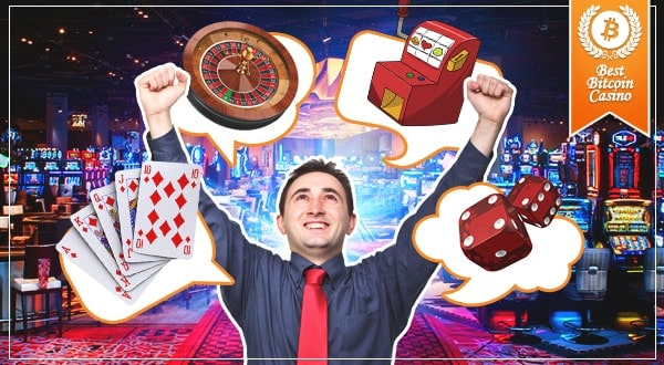 New Bitcoin Casino Games
