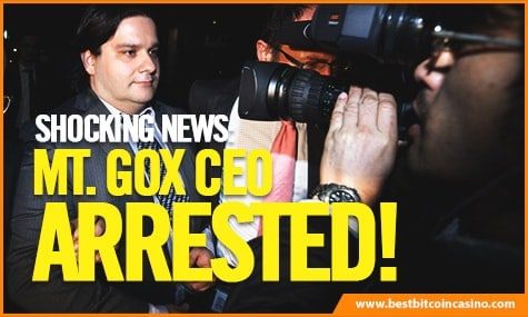 Mark Karpeles Arrested
