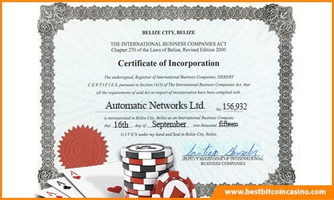 Poker Automatics Certification