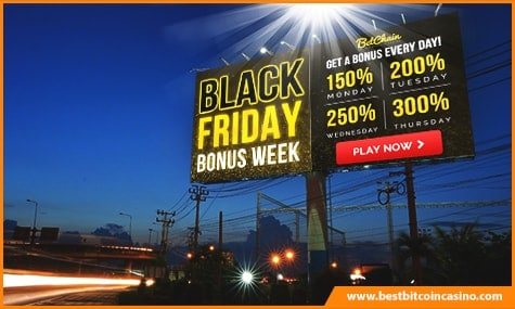 BetChain Casino Black Friday Bonus
