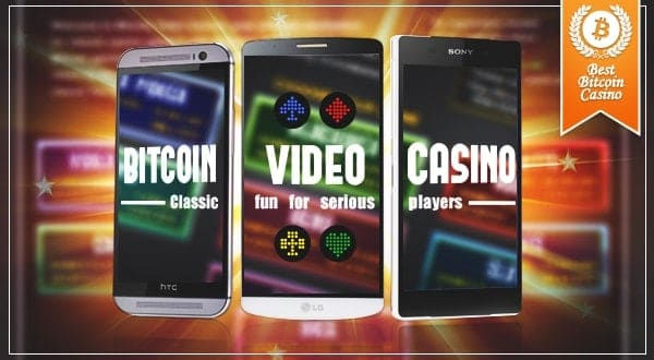 Bitcoin Video Casino Mobile App