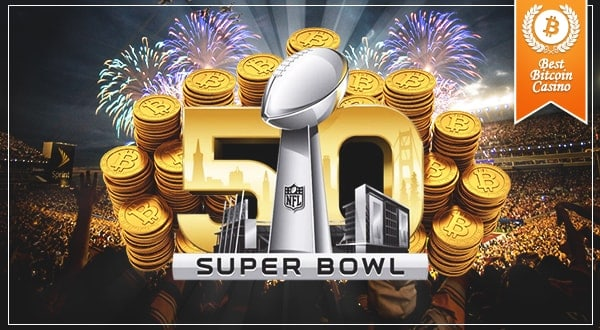 Super Bowl Bitcoin Betting