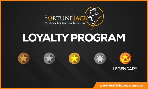 FortuneJack Loyalty Program