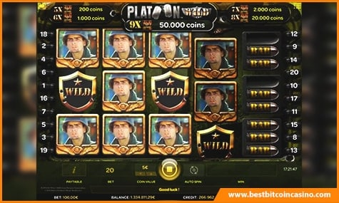 Platoon Wild Slot Game
