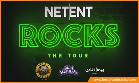 NetEnt Rocks Trilogy to be completed this month