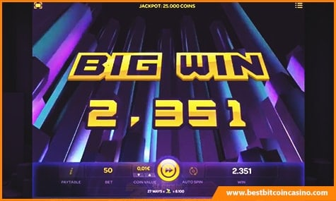 Big Win on Slammin'7s Slot