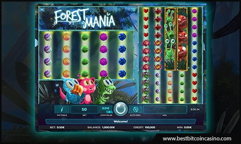 Forest Mania slot from iSoftBet
