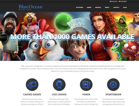 Bitcoin Blue Ocean Gaming