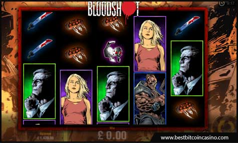Pariplay launches Valiant's Bloodshot slot