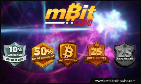 mBit Casino offers a lucrative VIP program