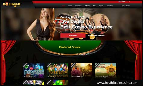 Rollthebit Bitcoin Casino now offers Betsoft Gaming slots