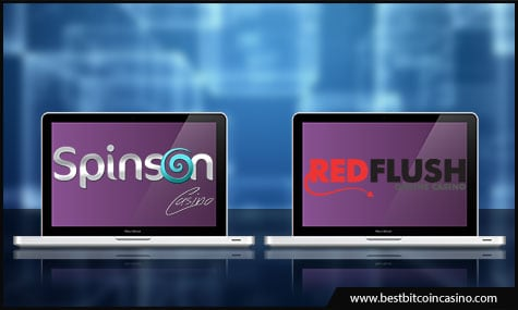 Red Flush Casino and Spinson are licensed by MGA