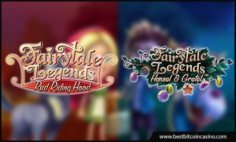 NetEnt features Fairytale Legends: Red Riding Hood slot and Hansel and Gretel slot