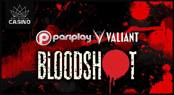 Bloodshot Slot is Pariplay's Newest Branded Slot