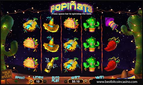 Realtime Gaming released Popinata slot in time for Cinco de Mayo