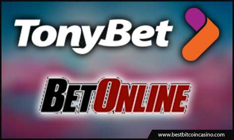 TonyBet and BetOnline.ag offers Bitcoin poker