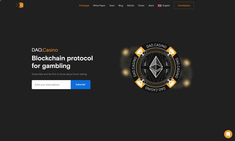 How Dao.Casino works