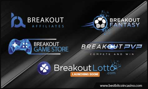 Breakout Gaming Group sites for the 1 million BRK Giveaway