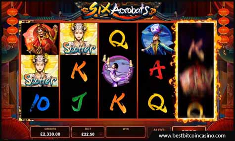 Microgaming launches Six Acrobats slot