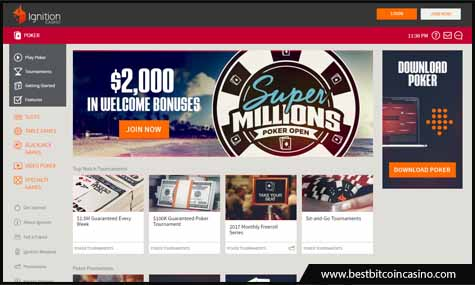 Ignition Poker opens to Australian poker market