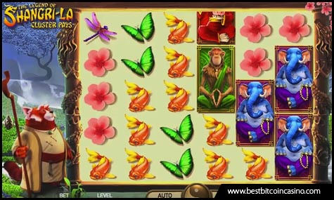 NetEnt launches The Legend of Shangri-La: Cluster Pays slots