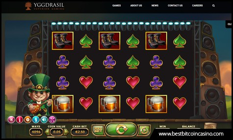 Yggdrasil launches Rainbow Ryan slots