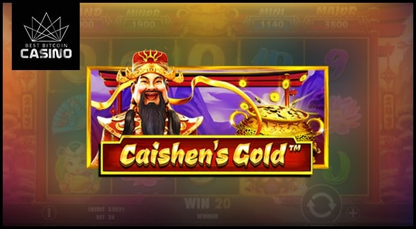 Bitcoin Casinos Add Pragmatic Play's Caishen's Gold Slots