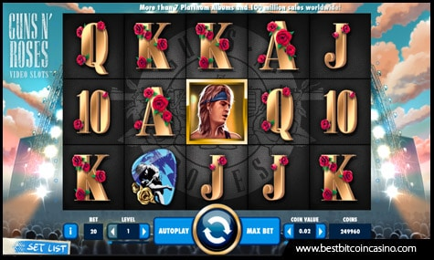 NetEnt features the rock legends in Guns N' Roses slots