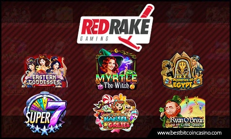 Red Rake Gaming offers high-quality slots and games